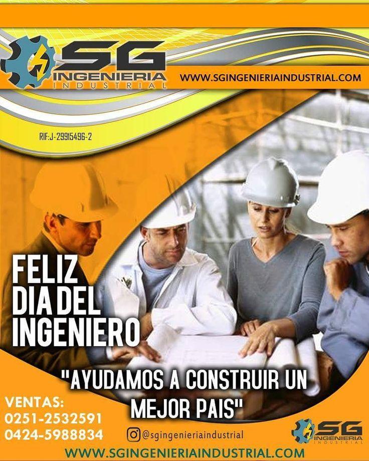 @sgingenieriaindistrial felicita a todos los #ingenierios en su día Cada 28 de octubre en Venezuela se celebra el Día del Ingeniero en conmemoración a que en esa fecha en el año 1861 fue instalado el Colegio de Ingenieros de Venezuela acto en el que estuvieron presentes 22 ingenieros de los 61 que lo integrarían inicialmente #DIADELINGENIERO