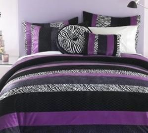 Unique Teen Bedroom Interior Design With Stripped Zebra Print Bedding By  ErinInTheSkyWithLupus #ZebraPrintBedding