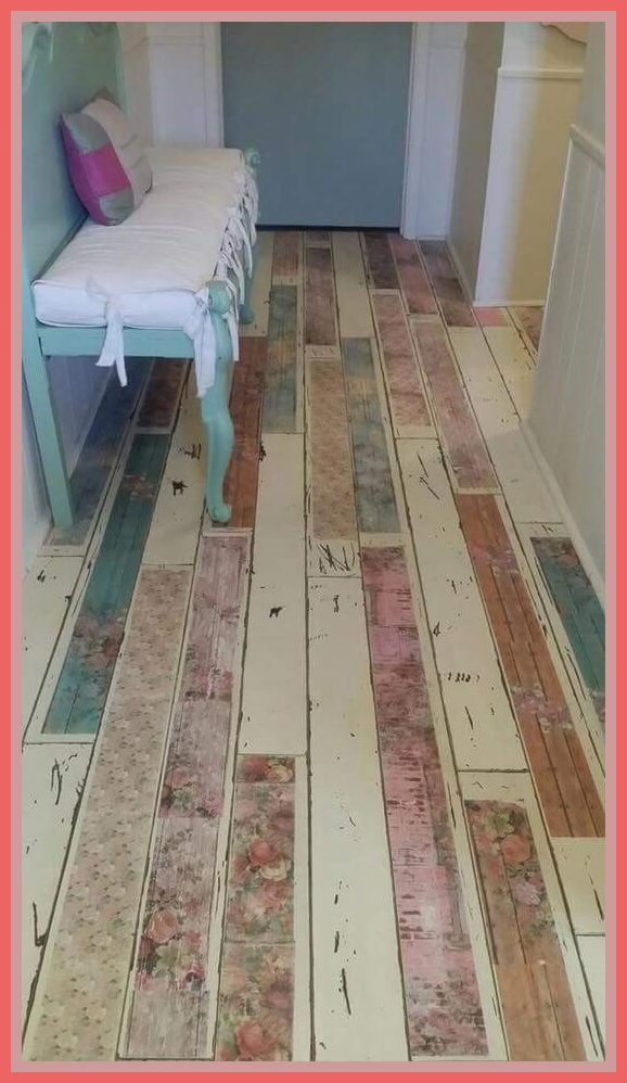 93 Reference Of Flooring Painted Wood Tile In 2020 Shabby Chic Wallpaper Shabby Chic Apartment Shabby Chic Bathroom