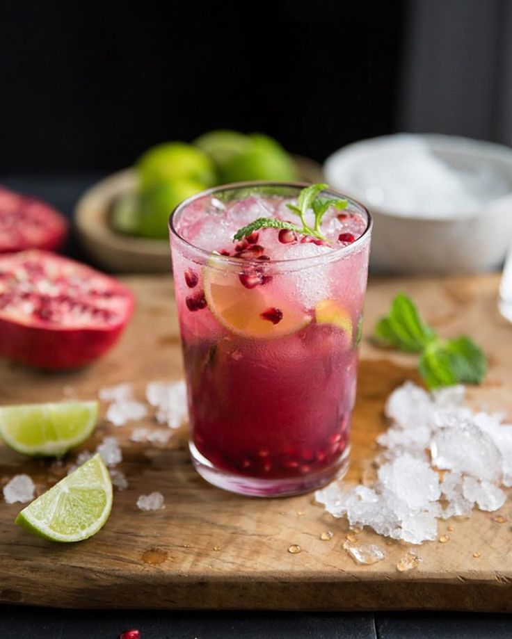 "428 Likes, 23 Comments - Sam Linsell (@drizzleanddip) on Instagram: ""I so wanted to load my video for this pomegranate mojito on Instagram today, but it seems the…"""