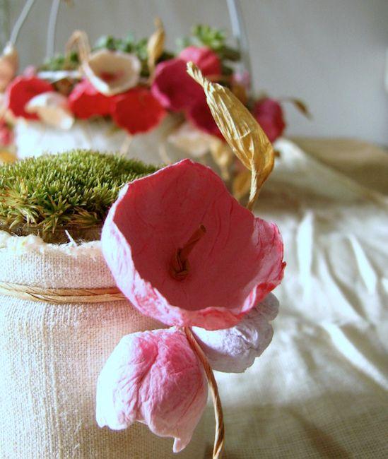 Matrimonio Tema Ecologico : Più di fantastiche idee su centrotavola shabby chic