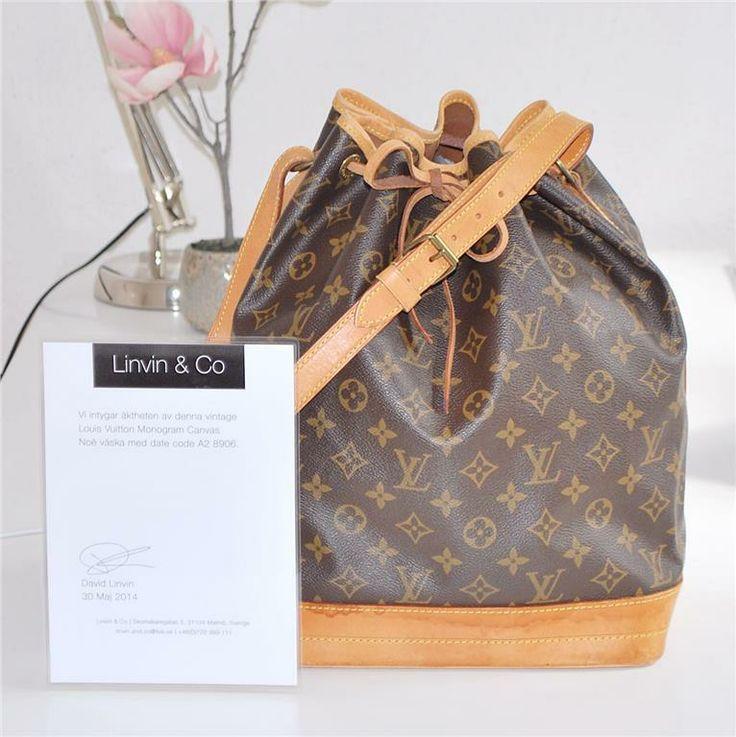 Louis Vuitton Noé Väska på Tradera. Läder | Handväskor | Väskor |