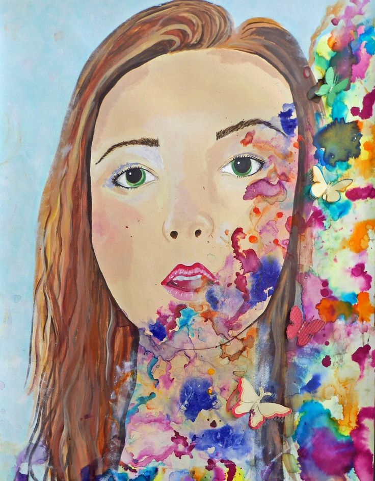 Pin by Laura Valdés on GCSE Art final pieces | Fusion art