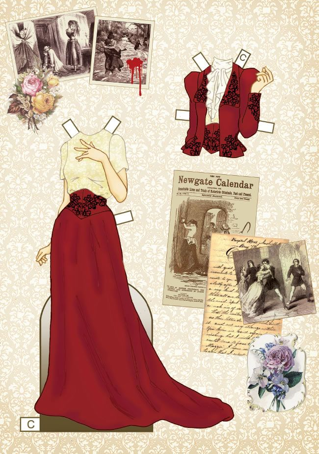 Best Paper Dolls Victorian Styles Images On   Dolls
