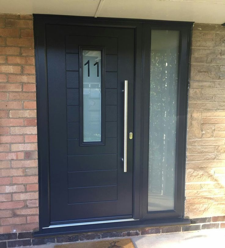 This Alto design with a glazed side panel is a perfect example for homeowners with larger front entrances. Find your nearest installer & get a quote now: http://endurancedoors.co.uk/authorised-retailers/