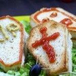 Хэллоуин: Бутерброды – надгробие.