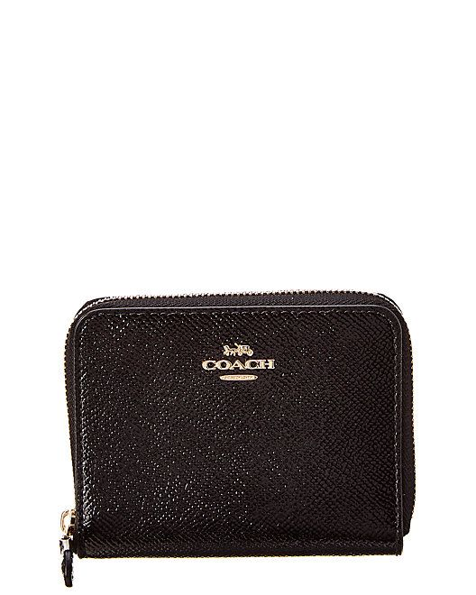 3ee793e6b0b6 Coach Small Zip Around Patent Wallet  Small