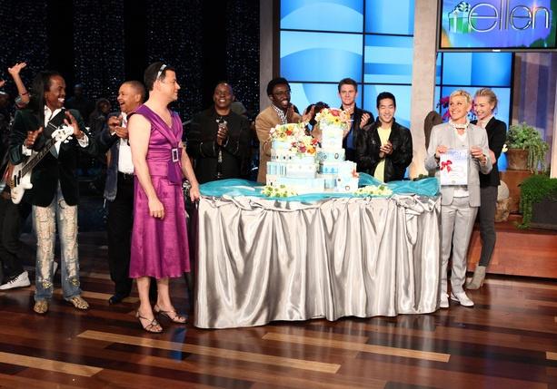 Ellen's birthday show!