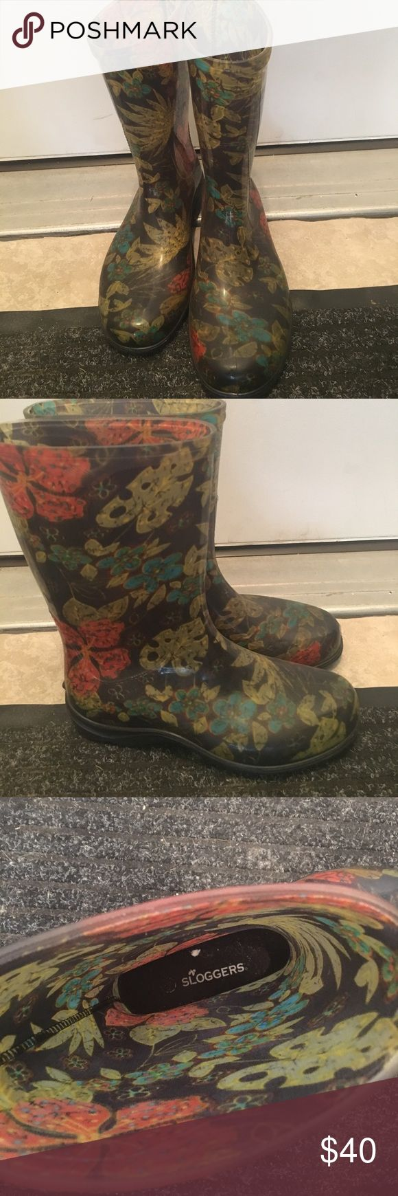 Sloggers rain boot Like new. sloggers Shoes Winter & Rain Boots