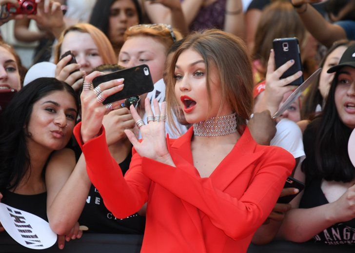 Pin for Later: Gigi Hadid Was Clearly Living Her Best Life at the iHeartRadio Much Music Awards