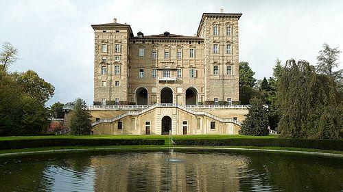 Castello Ducale di Agliè - residenze reali del Piemonte. 45°21′41.33″N 7°46′09.47″E