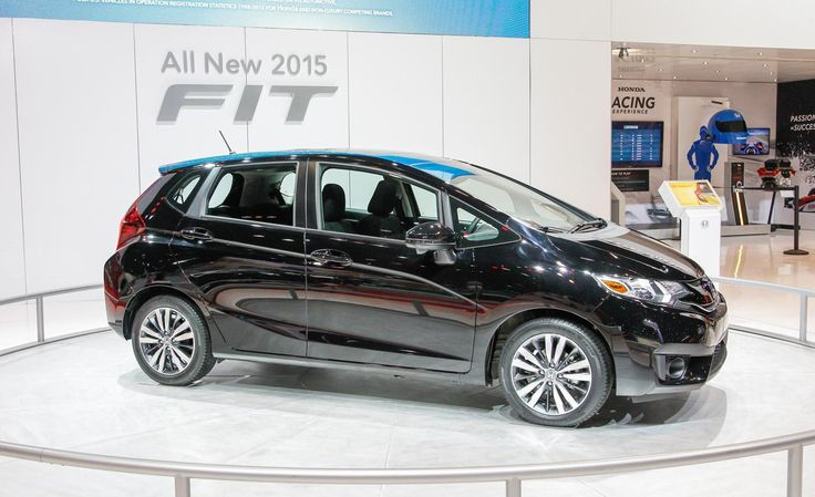 honda fit 2015 black on auto show #2015HondaFit #Car #Autos #Review #Honda #car2015 #Fit #Black #Show
