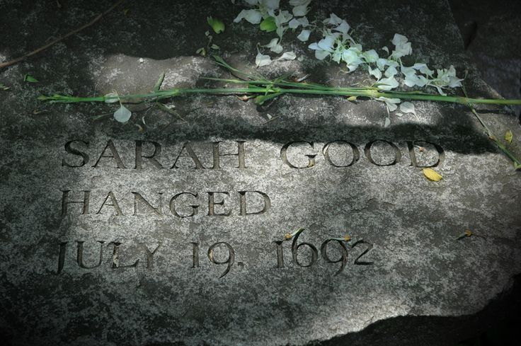Sarah Good...Hanged  July 19, 1692  photo by J. Mark Edmonds