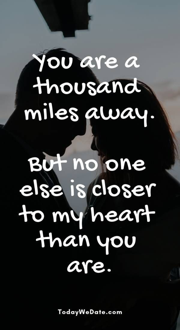 26 Quotes and memes to send to him when long distance relationship