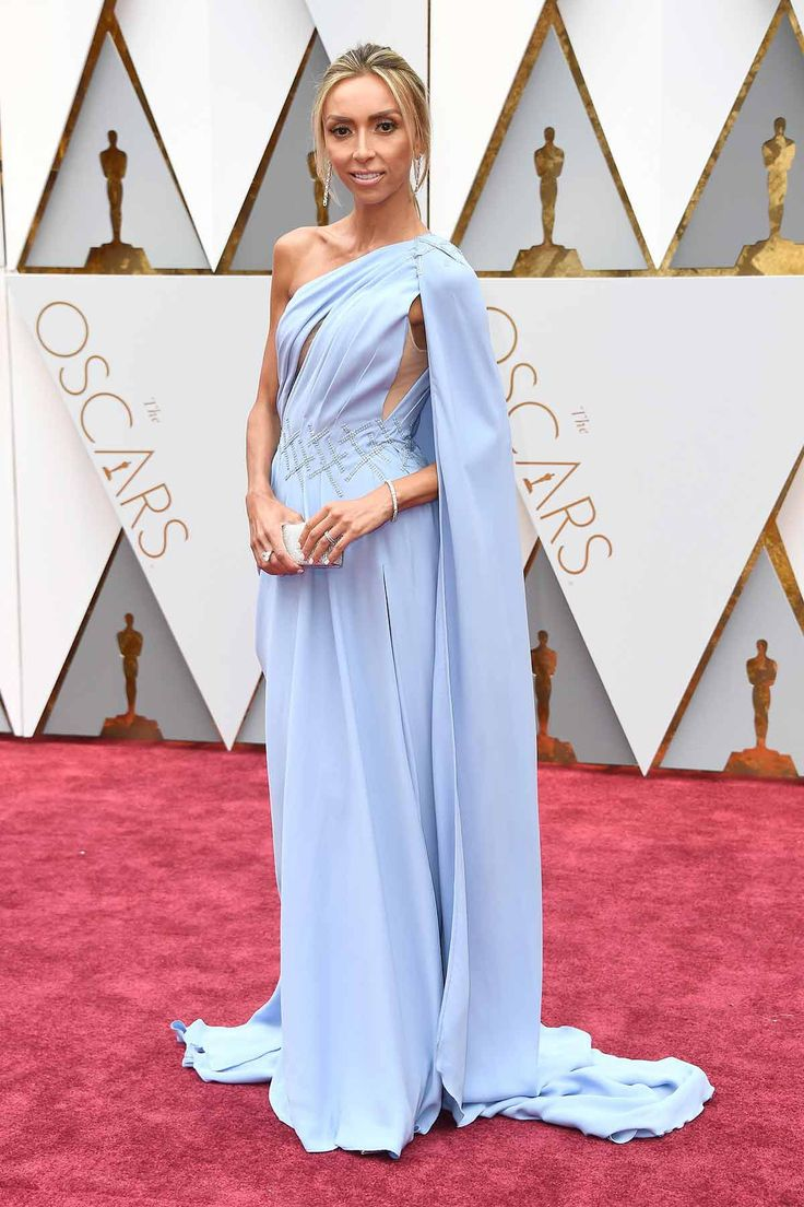 Giuliana rancic 2014 oscars paolo sebastian dress - Giuliana Rancic By Georges Chakra Oscars 2017