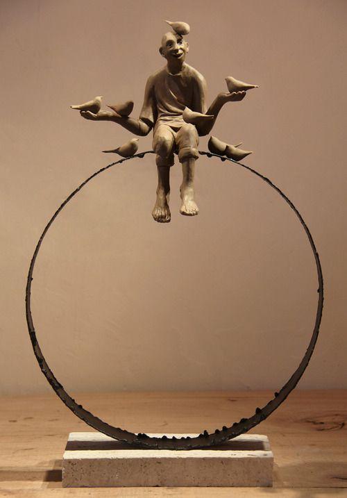 Sculptures by Iranian Artist Soheyl Bastami.