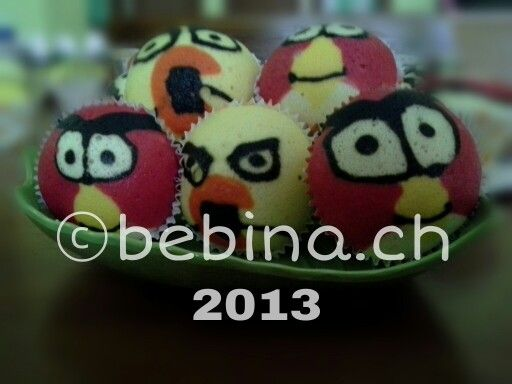 Angry Birds Series | Fancy Steamed Cupcakes