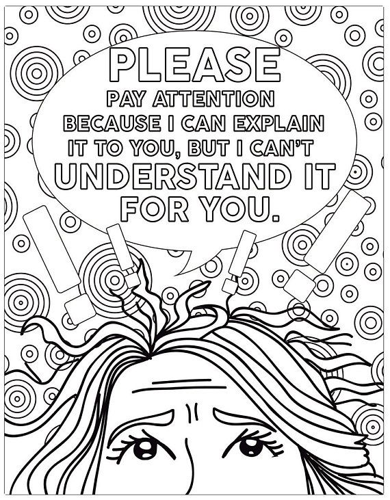 Teacher Coloring Book Coloring Books Coloring Pages Adult ...