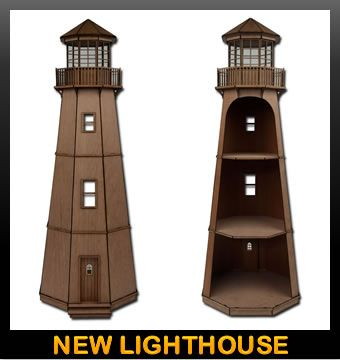 Woodworking Stores Wooden Lighthouse Kits