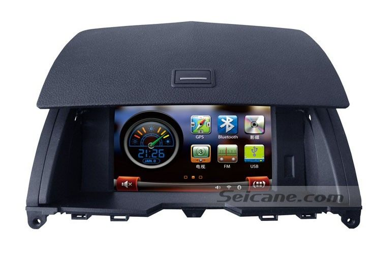 This is an all-in-one CD Radio Navigation System for 2008 2009 2010 Mercedes Benz C W204 C200 C230 C250 C280 C350 C300 C220 CDI C320 CDI C180 C230 C200 CDI C63 AMG. You will still get access to your original car's interface after installation. Therefore, it keeps your original car's functions.   Original: With color similar to original radio, matching up with your car in style; Steering wheel control ready (resistor type) for working with the DVD Player.