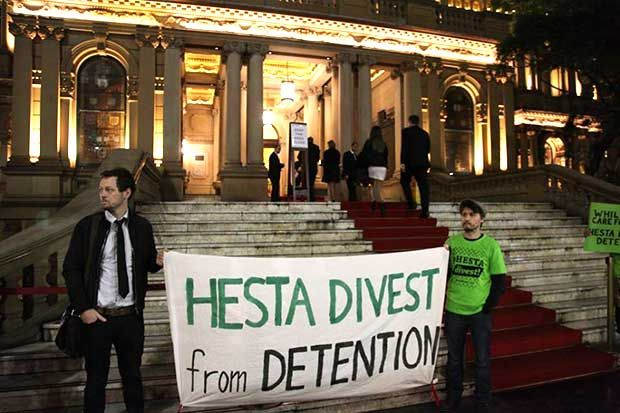 ANALYSIS 25 Aug 2015 By Matthew Kiem Keywords: hesta transfield services asylum seekers ged kearney allan gray The inspiring tale of activism that forced a major super fund to ditch a company in t...