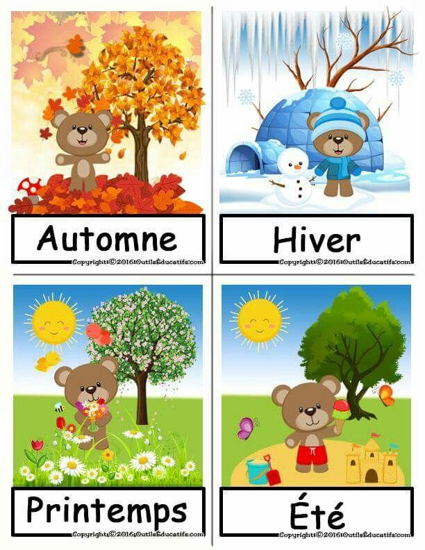 Les 30 meilleures images du tableau les 4 saisons sur pinterest automne quatre saisons et - Dessin 4 saisons ...
