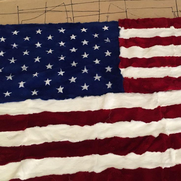 Coming soon  Rex rabbit american flag Full skin