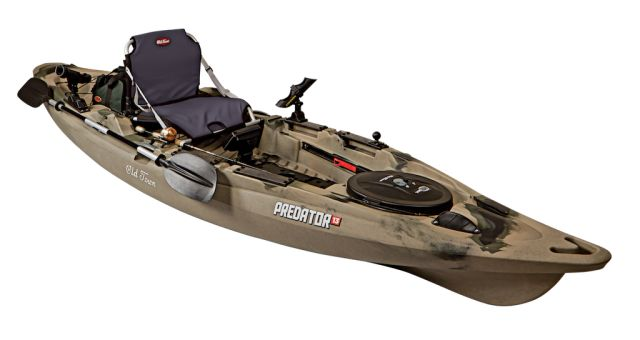 The Predator XL Kyack. Built and designed to bridge the gap between kayaks and bass boats. This exceptional game changer goes on sale November 2014. Currently the buzz word in the Kayak fishing community it's arrival is eagerly anticipated and have a glance at below to see why. If you are in the line of those going to purchase do let us know and better still reviews will be welcome.