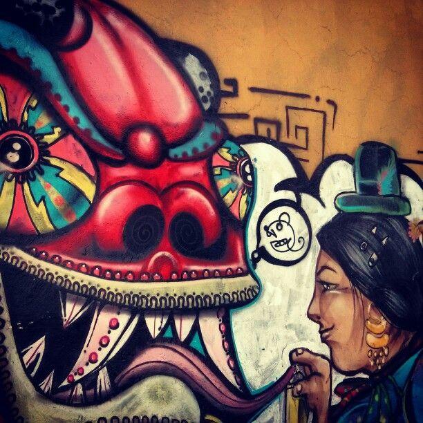 63 mejores imgenes de murales  street art en Pinterest