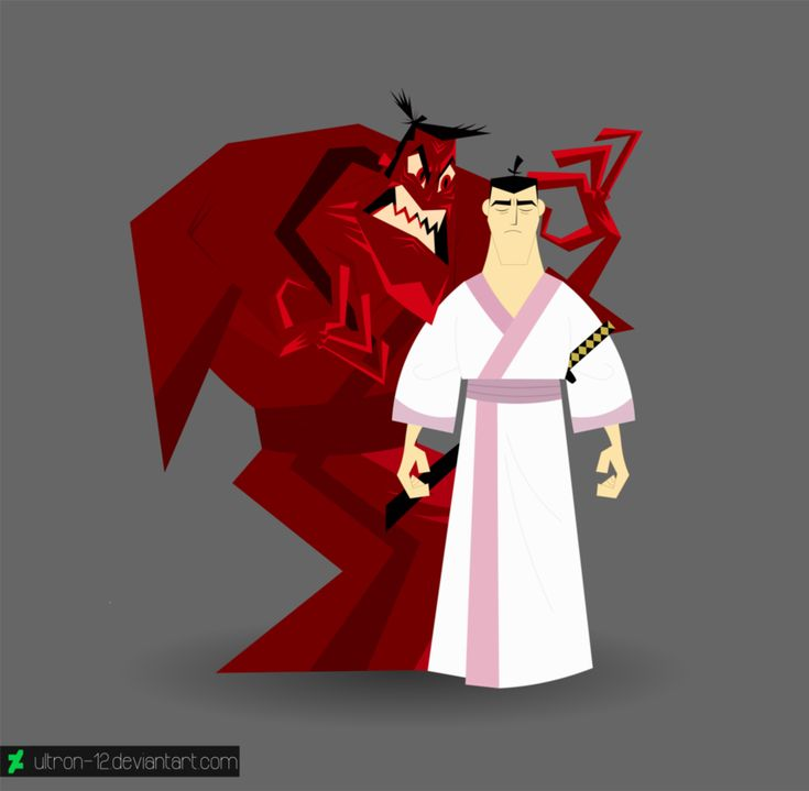 Samurai Jack   Madness It breaks my heart that he was haunted by this for so long... :'(