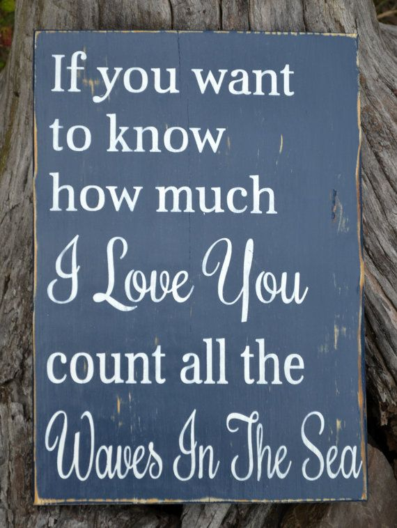 Beach Decor Nautical Nursery Beach Wedding by CarovaBeachSignCo