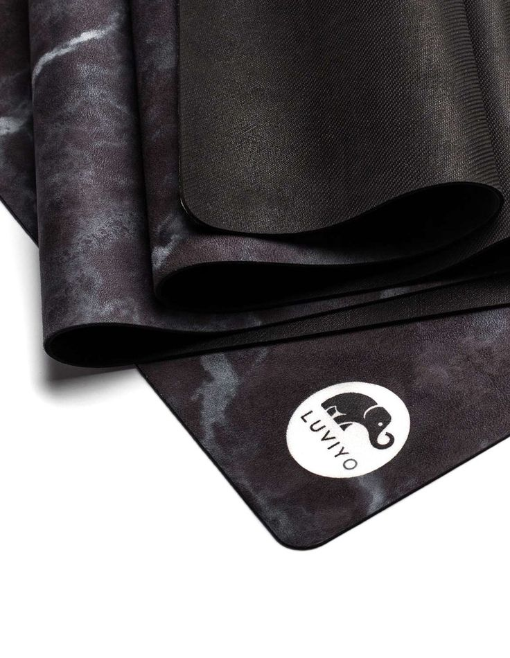 All-In-One Yogamatte Black Marble