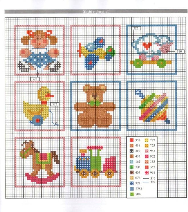884 best Punto dexminiaturas bbs images on Pinterest Cross stitch baby, Patterns and Cross ...