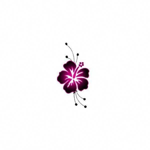 Tattoos For Women Hawaiian Flower Tattoos Hawaii Flower Tattoos Purple Flower Tattoos