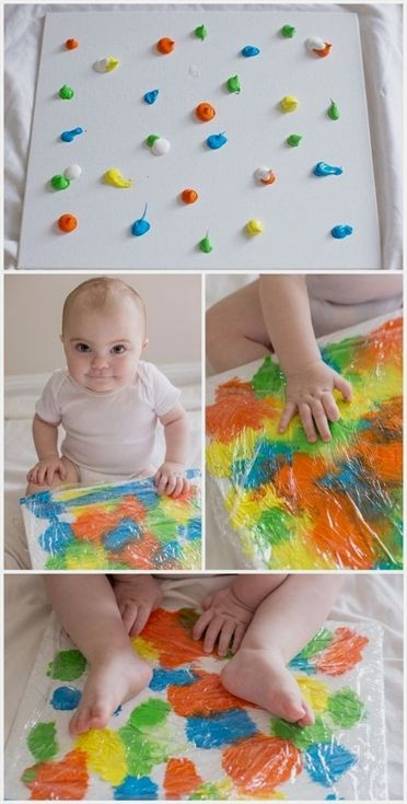 baby paint recipes & art activities #schwangerschaftsfotos #ideen #verkünden #k…