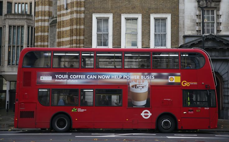 Londons Buses Are Now Powered By Coffee Grounds - Genius Kitchen