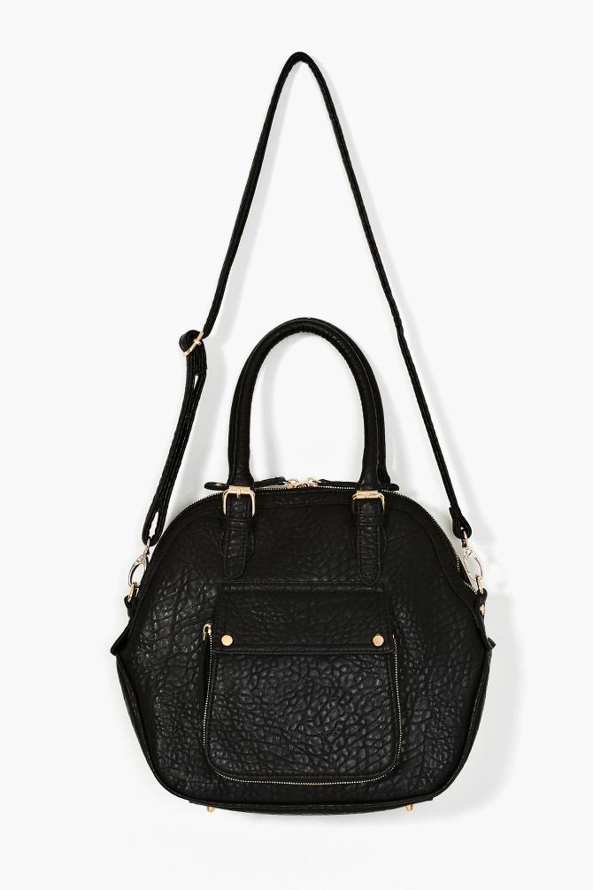 Caterina Bowler Bag - Black