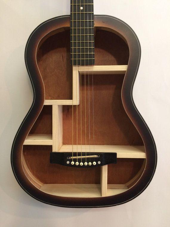 25 best ideas about guitar shelf on pinterest music for Acoustic guitar decoration