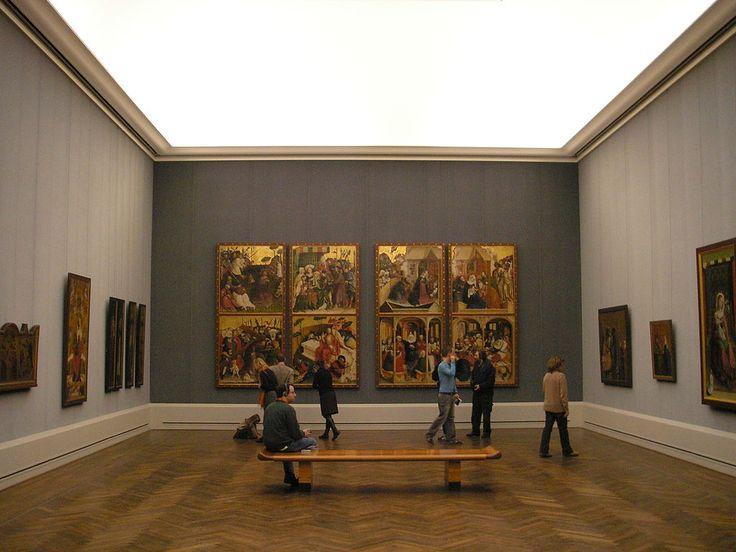 #berlin #gemäldegalerie #kulturforum #sztuka #muzeum #obrazy #zwiedzanie