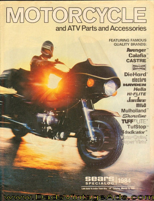 Fresh  Sears Motorcycle and ATV Parts And Accessories Catalog