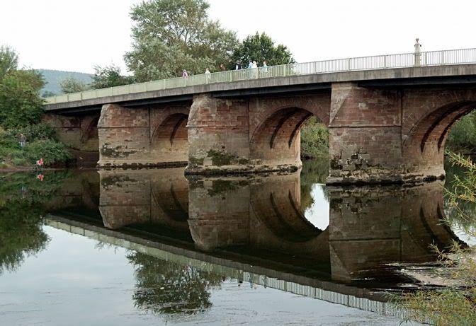 Wilton Bridge at Ross on Wye, WyeValley