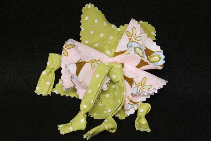 Cotton Boutique Matching Hair Bow Made to Match Add On to any Dress or Skirt Fabric Handmade Flower Hair Clip Barette Shabby Chic M2M Girls by UniqueBoutiqueKathy on Etsy