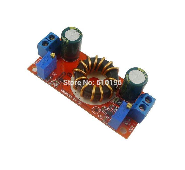 10PCS 10A DC-DC  4-32V to 1.2-32V Step Down Module Solar Charger Constant Voltage Current Adjustable Buck Converter LED Driver #Affiliate