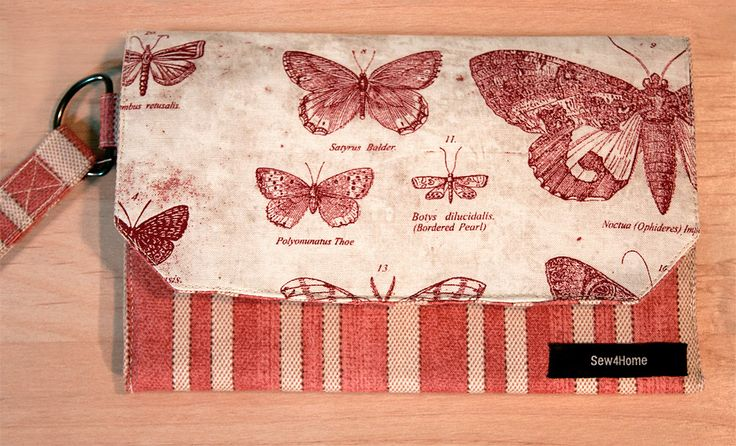 Fabric Wallet with Zippered Coin Pouch   Sew4Home