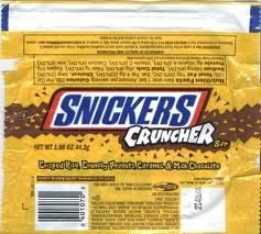 Snickers Cruncher .