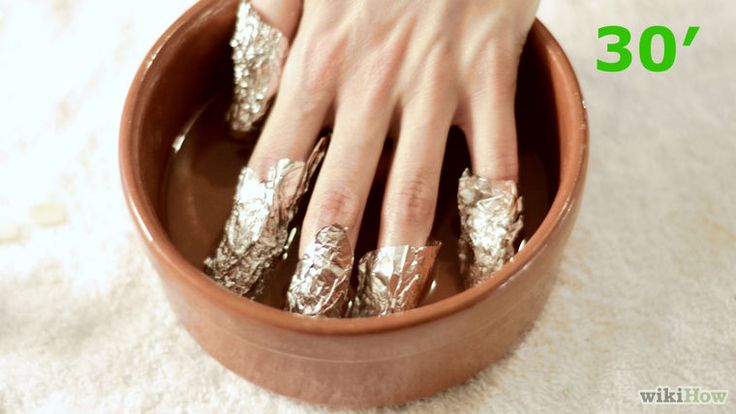 Künstliche Fingernägel entfernen – wikiHow