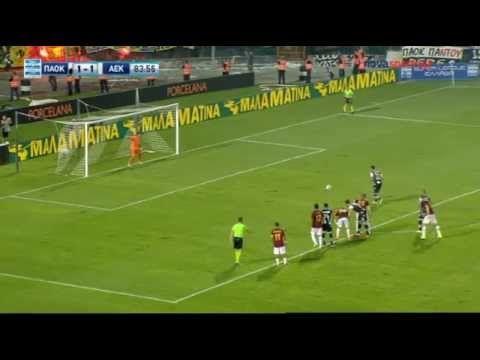 PAOK - AEK 2-1 All Goals (23.9.15)