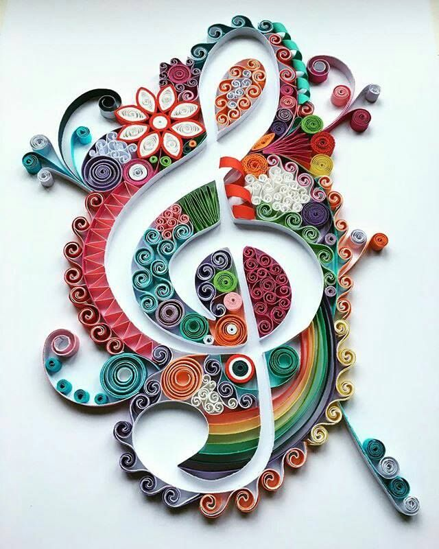 278 best images about quilling musical notes