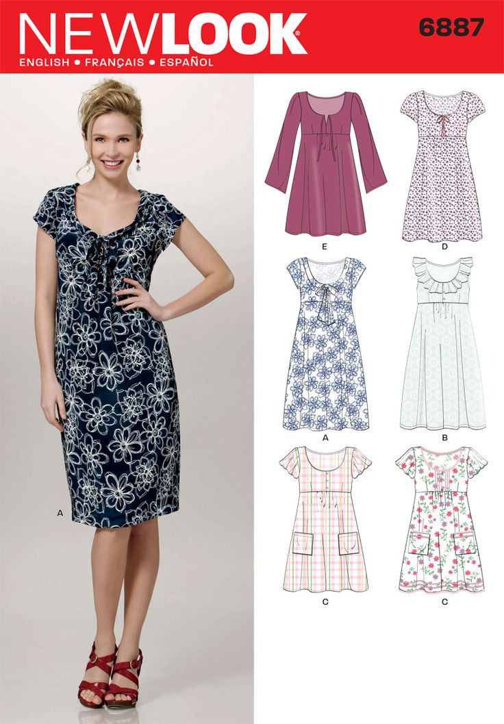 10  ideas about New Look Patterns on Pinterest  New look dresses ...