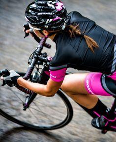 Cyclist appreciates more endurance and good deeds.